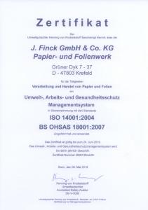 Finck_ISO_14001_2004_DE